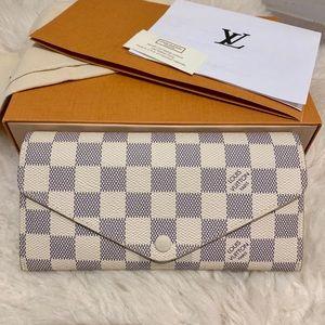 Louis Vuitton 2018 Damier Azur Josephine Wallet
